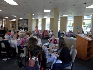 AAUW Sacramento Members Socializing