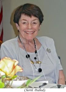 Outgoing President Cherril Peabody