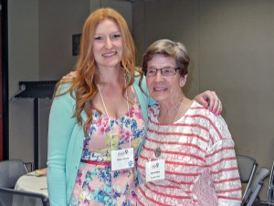 Jane Cooley & her granddaughter (and fellow AAUW member) Tiffany Ardisana
