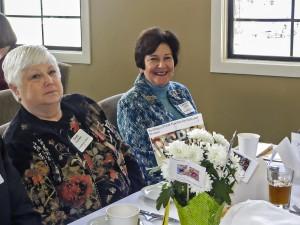 Carolyn Garfien - AAUW Past President & Cindy Faulkner