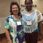 Donna Holmes & scholarship winner Brandi Veal
